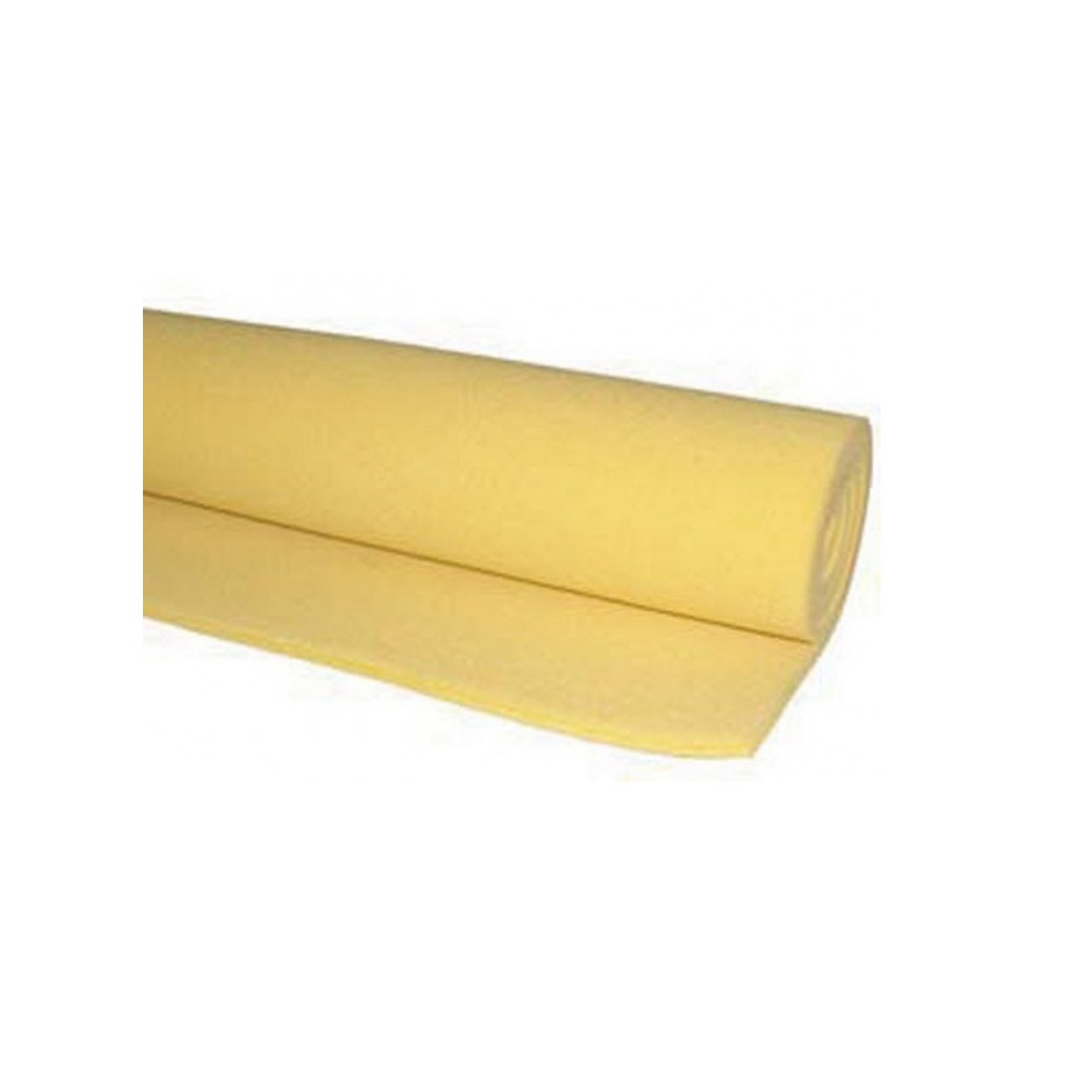 SILICONE ESPANSO MORBIDO GIALLO SP.10 H.1300MM