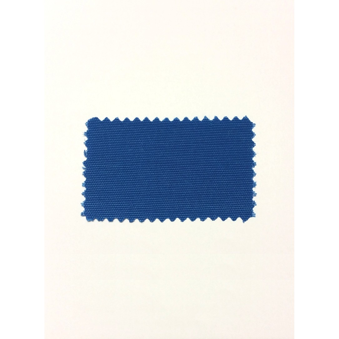 BLUE POLYESTER FABRIC, POLYESTER  HEIGHT: 1500 mm