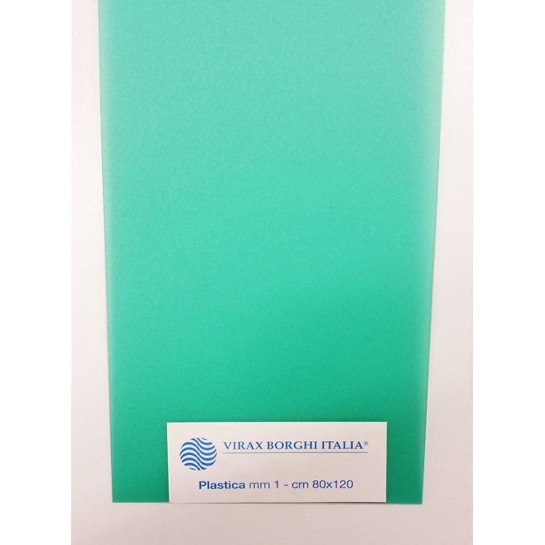 PLASTICA 1MM VERDE 80X120