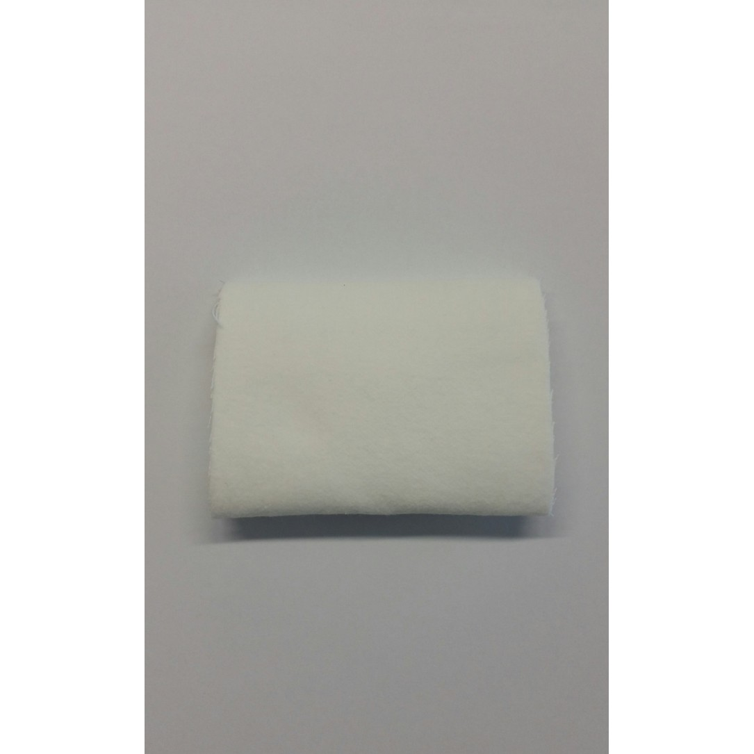 Molan 100% cotton felt  L1500 mm rolls of 50mt .