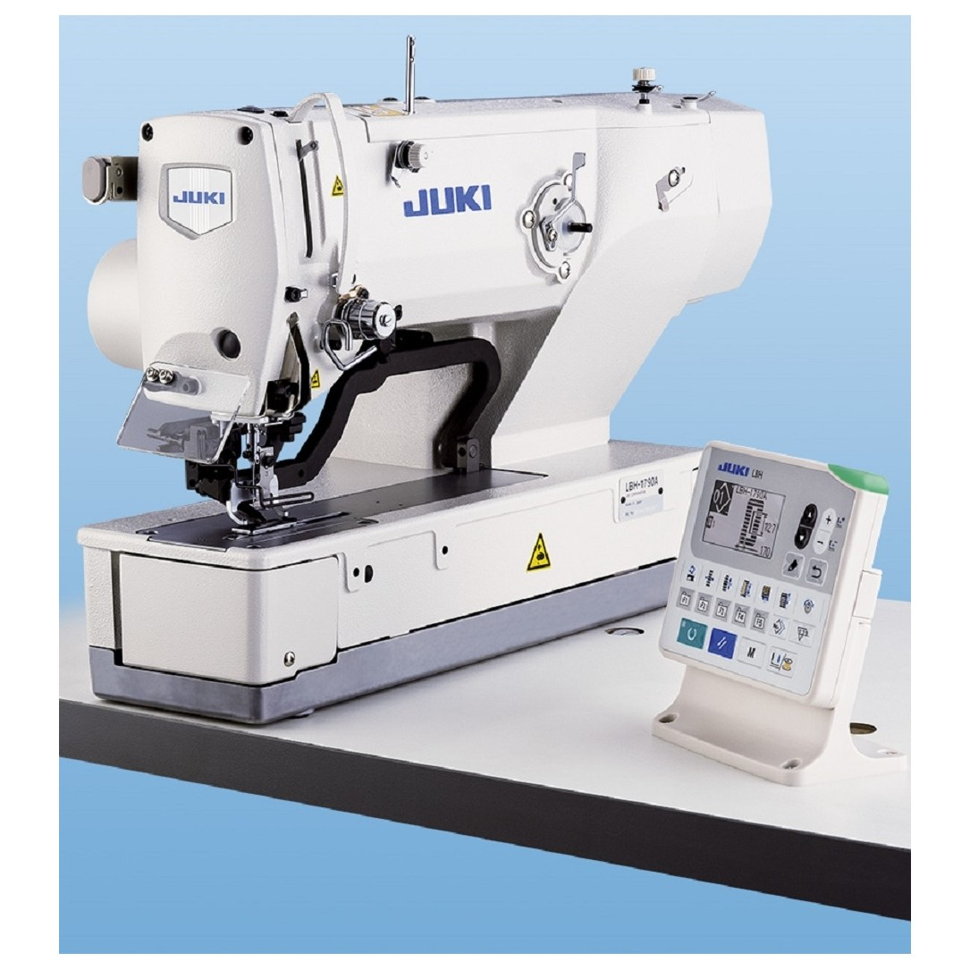 Juki Computer-controlled, High-speed, Lockstitch Buttonholing Machine mod.LBH1790A