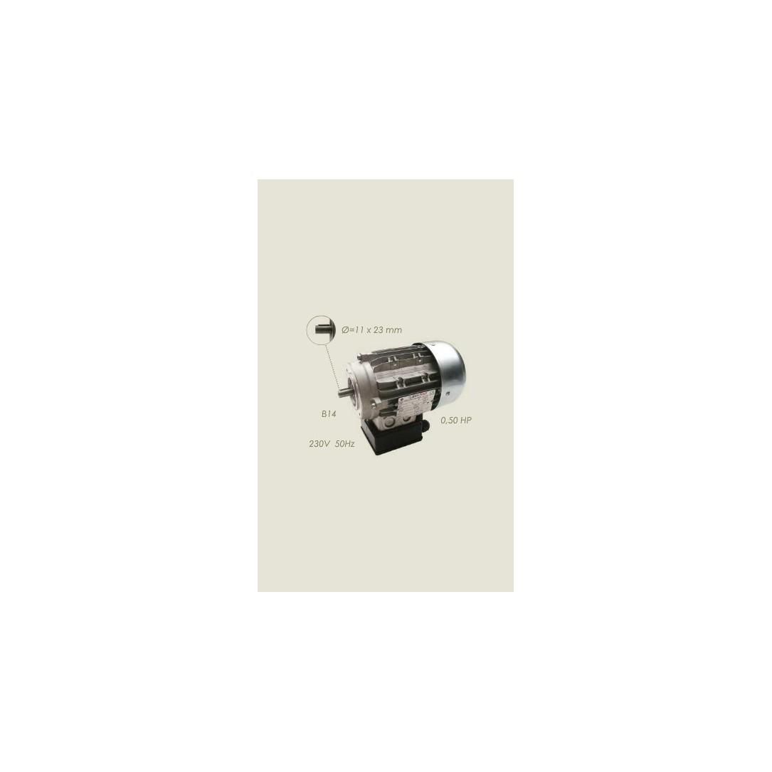 motore aspiratore 63 B14 0,37 KW 230/1/50
