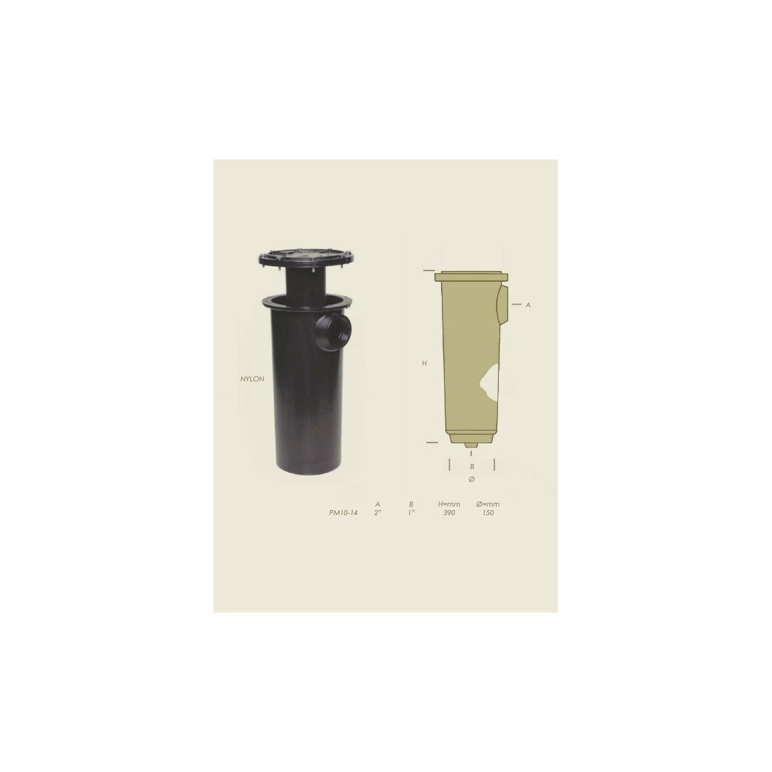 condensatore PM10 PM14 nylon senza serpentina