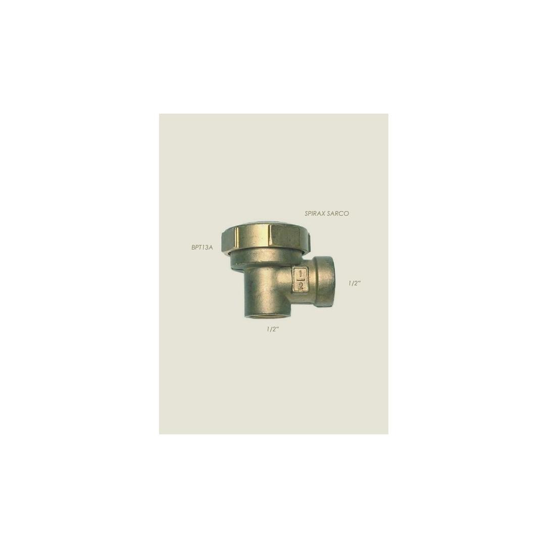 """Scaricatore termostatico angolare Spirax BPT13A 1/2"""""""