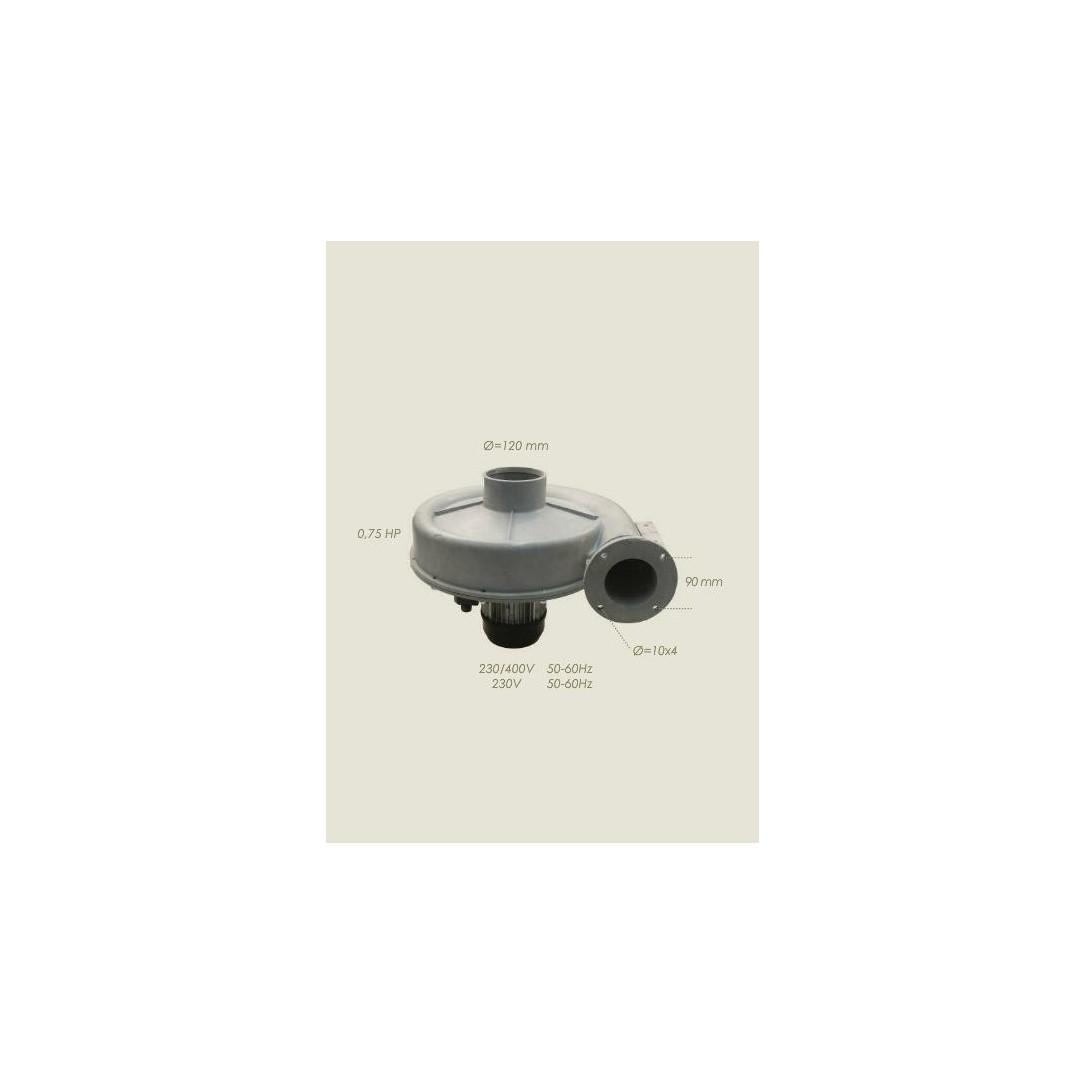Aspiratore completo pressa HP 0,75 380/3/50