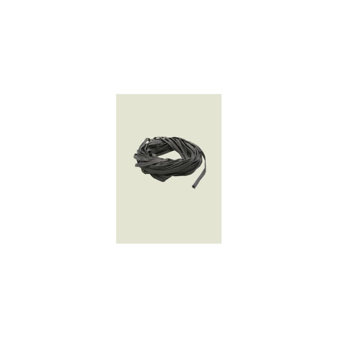 Calza terilene grigia diametro 12mm