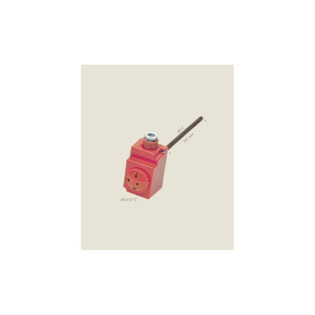 Termoregolatore a gambo Lunghezza 197mm da 40° a 210°