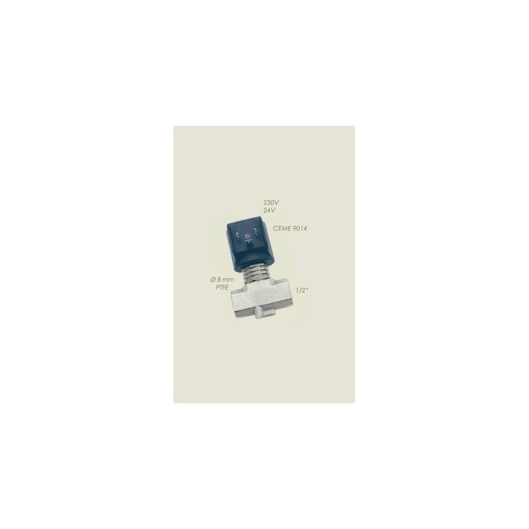 """Elettrovalvola Ceme ESV 9014 Teflon 1/2""""F F 220 V"""