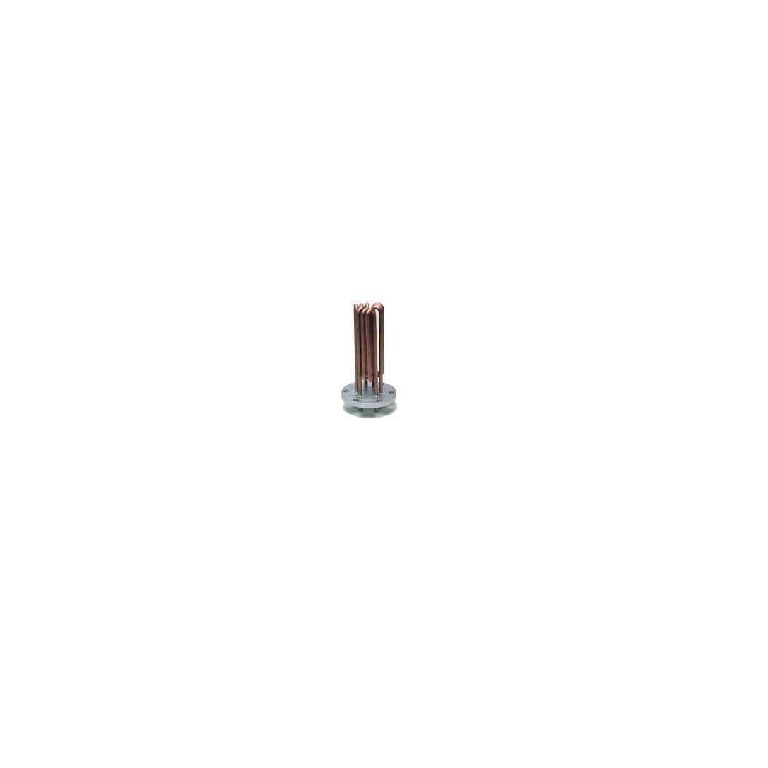 Resistenza Ghidini con flangia diametro 130mm 6 fori Lunghezza 180mm