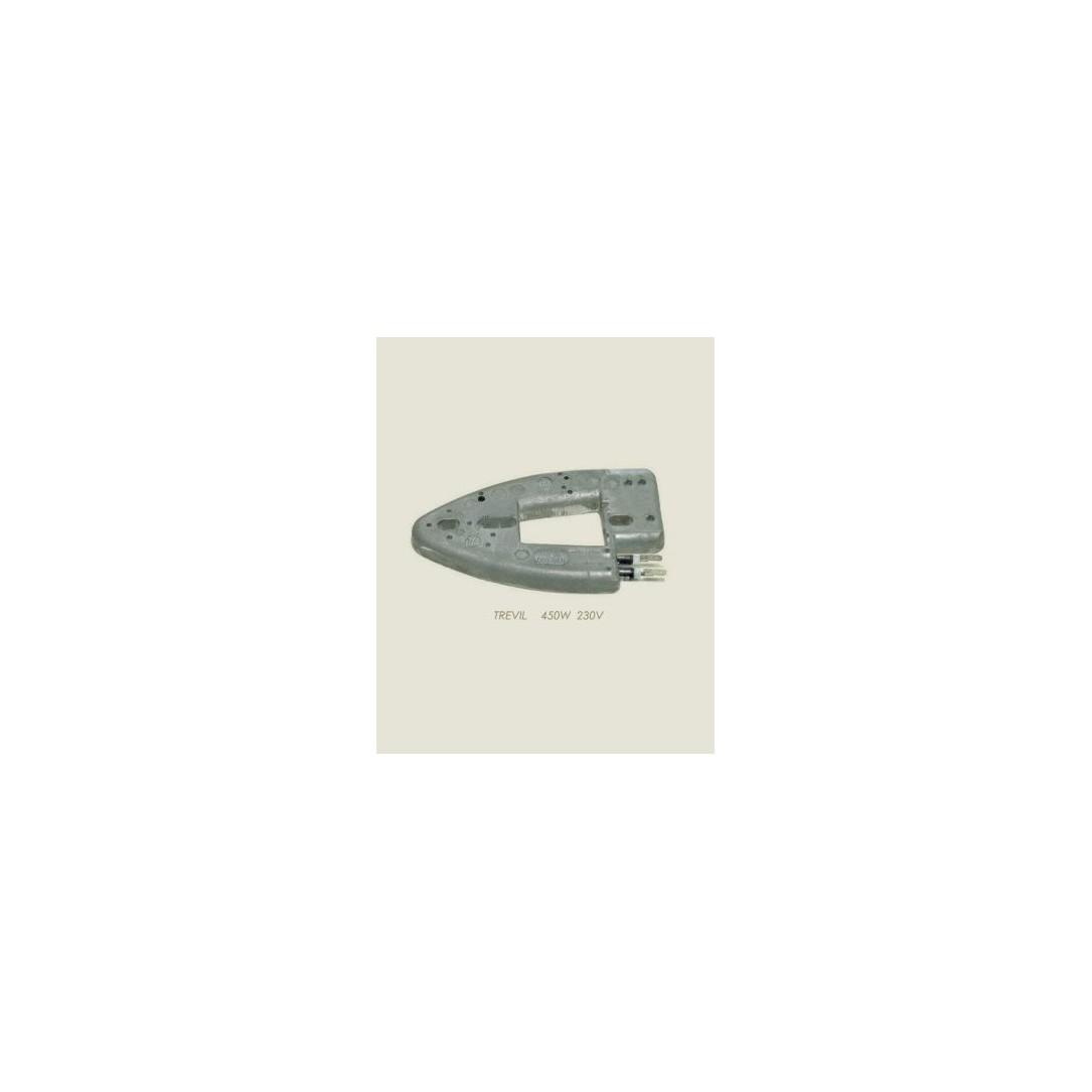 Resistenza ferro alluminio Trevil 450 W