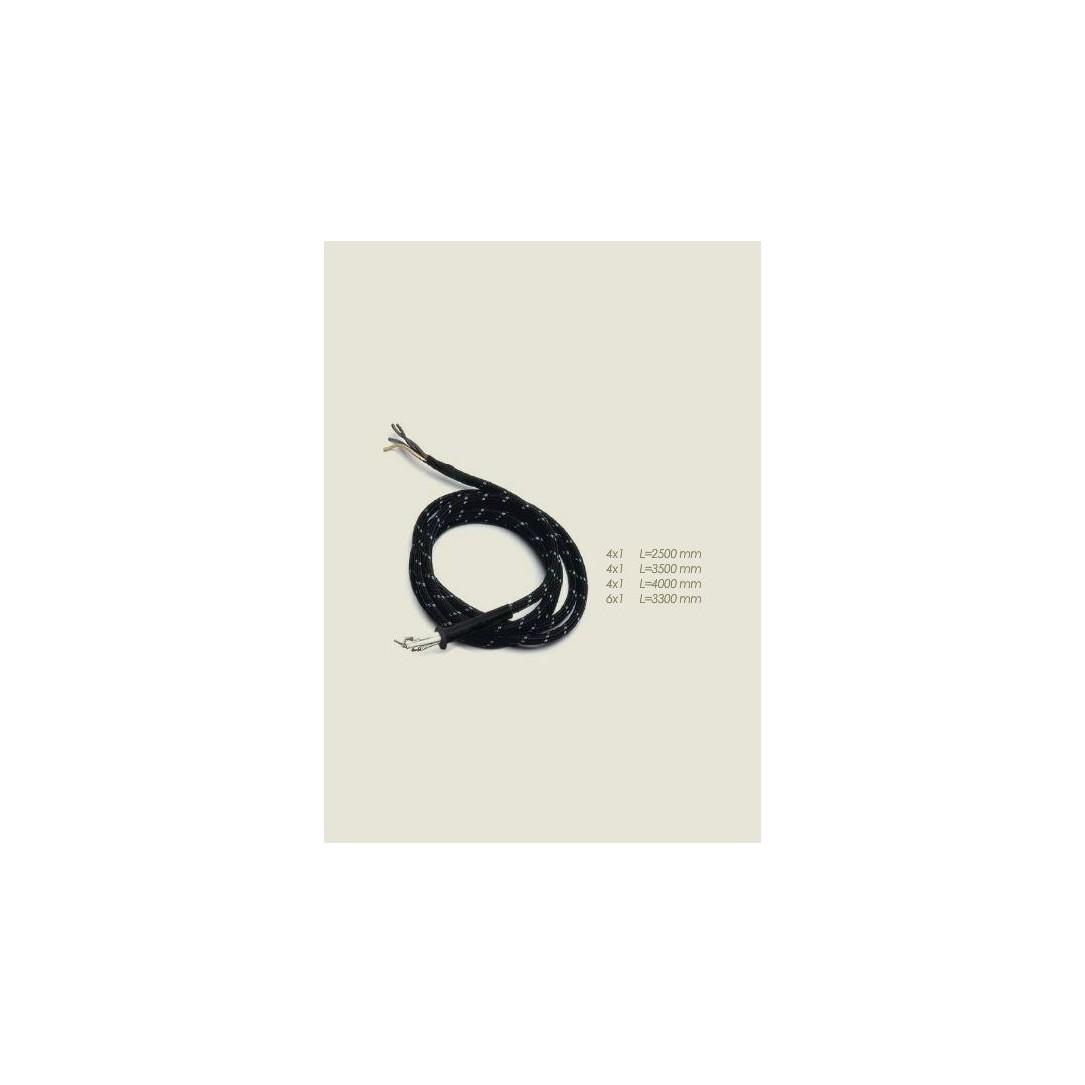 Cordone ferro elettrovapore 52 capillari Lunghezza 3500mm