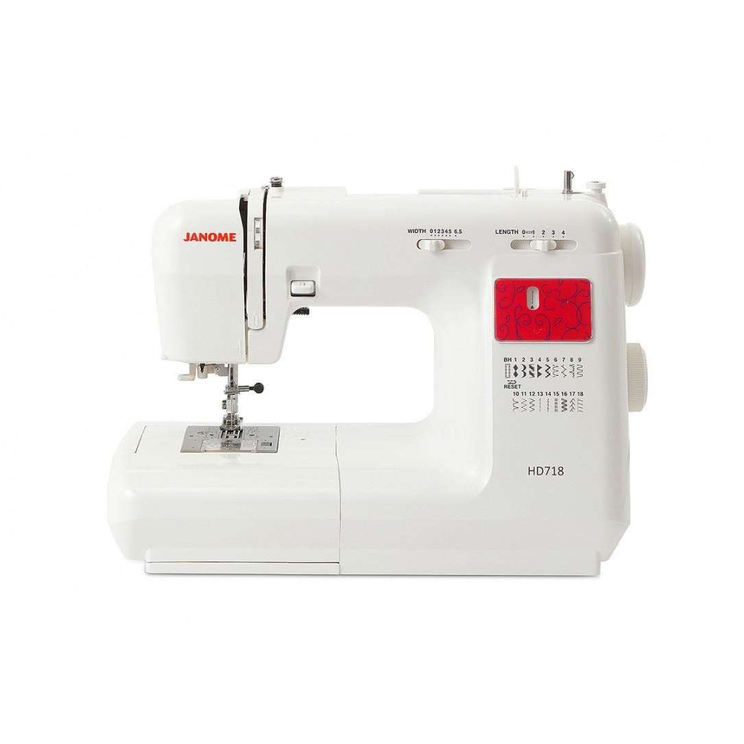 Macchina per cucire Janome mod. HD 718