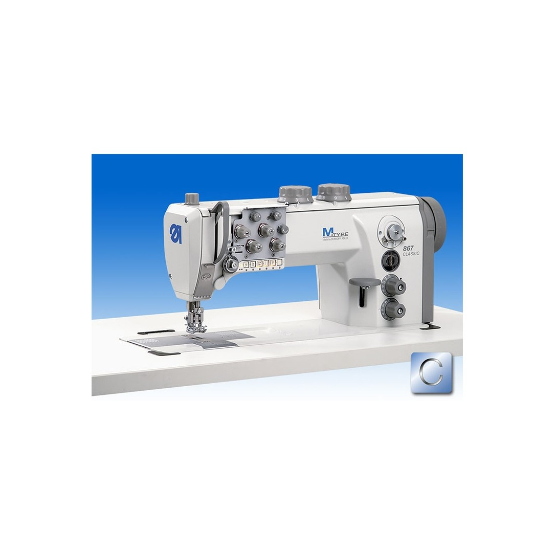 Macchina piana2aghi 3-50mm MOD.867-290445-M C